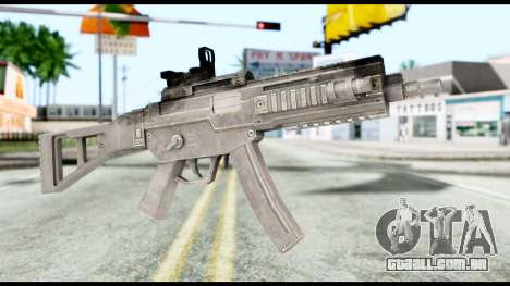 MP5 from Resident Evil 6 para GTA San Andreas