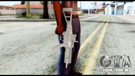 MP5 from Resident Evil 6 para GTA San Andreas terceira tela