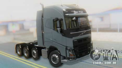 Volvo FH Euro 6 Heavy 8x4 para GTA San Andreas