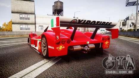 Radical SR8 RX 2011 [6] para GTA 4 traseira esquerda vista