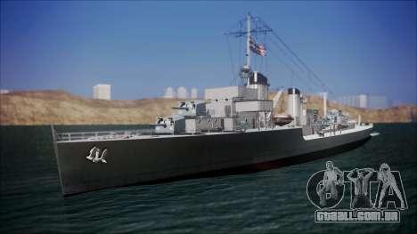 Type 34 Destroyer para GTA San Andreas