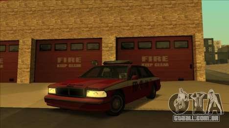 FDSA Premier Cruiser para GTA San Andreas traseira esquerda vista