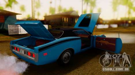 Dodge Charger Super Bee 426 Hemi (WS23) 1971 IVF para GTA San Andreas vista interior