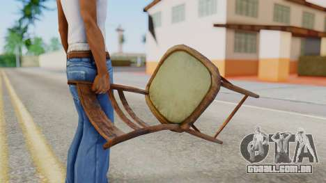 Chair from Silent Hill Downpour para GTA San Andreas terceira tela