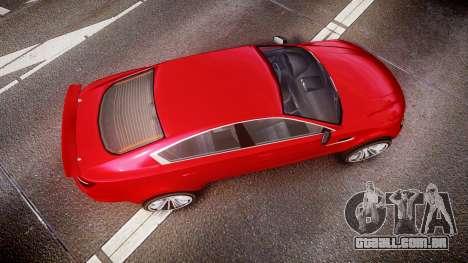 GTA V Ocelot Jackal liberty city plates para GTA 4 vista direita