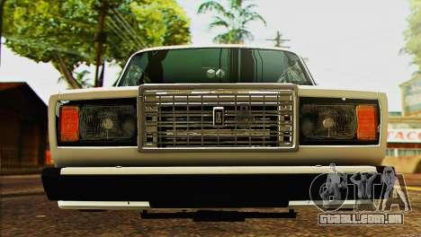 VAZ 2107 E-Design para GTA San Andreas vista direita
