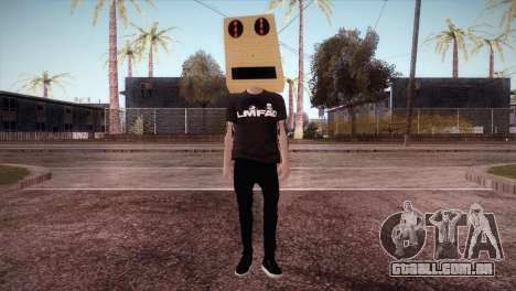 LMFAO Robot para GTA San Andreas segunda tela