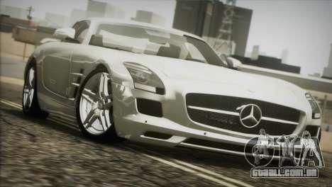 Mercedes-Benz SLS AMG 2013 para GTA San Andreas vista interior