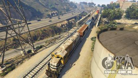 GTA 5 Railroad Engineer 3 sétima screenshot