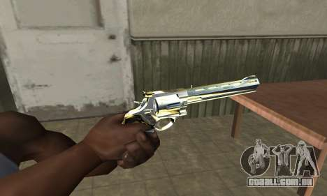 Revolver para GTA San Andreas segunda tela