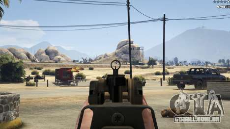 GTA 5 Battlefield 4 CZ805 sétima screenshot