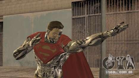 Superman Cyborg v2 para GTA San Andreas