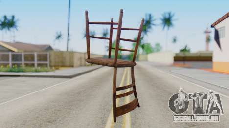 Chair from Silent Hill Downpour para GTA San Andreas segunda tela