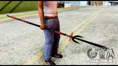 Yukimura Spear para GTA San Andreas segunda tela