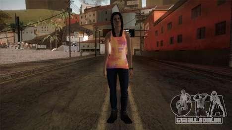 Alara Model Girl para GTA San Andreas segunda tela