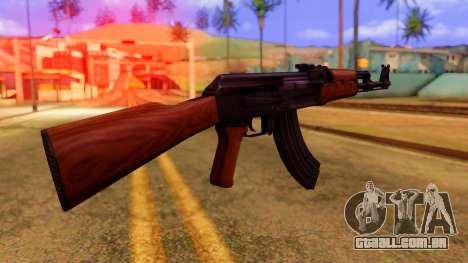 Atmosphere AK47 para GTA San Andreas segunda tela
