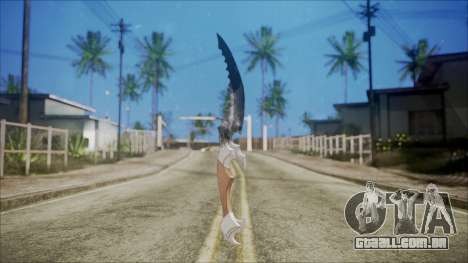 Colecionador de faca para GTA San Andreas