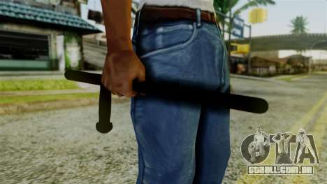 Police Baton from Silent Hill Downpour v2 para GTA San Andreas terceira tela