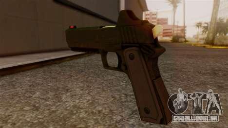 Heavy Pistol GTA 5 para GTA San Andreas segunda tela
