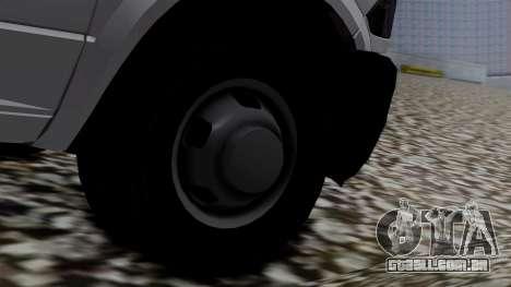 Dodge Ram 3500 2010 para GTA San Andreas traseira esquerda vista