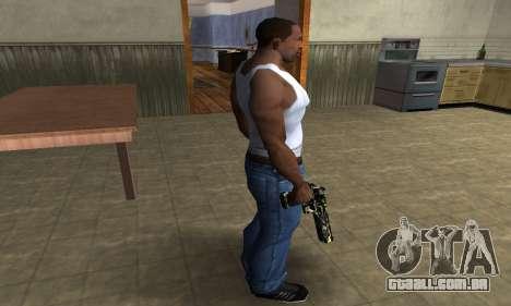 Deagle Camo para GTA San Andreas terceira tela