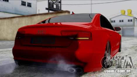 Audi A8 Turkish Edition para GTA San Andreas esquerda vista
