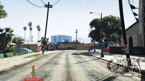 Exibição da localização do jogador v1.06 para GTA 5