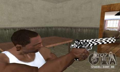 Math Deagle para GTA San Andreas terceira tela