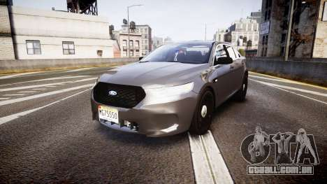 Ford Taurus 2010 Unmarked Police [ELS] para GTA 4