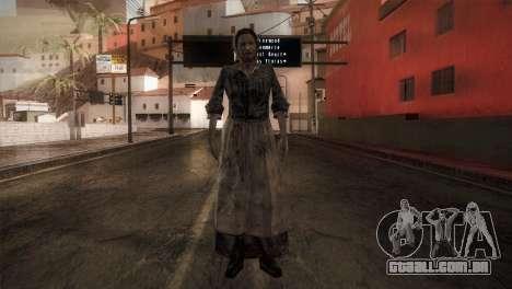 RE4 Maria para GTA San Andreas segunda tela