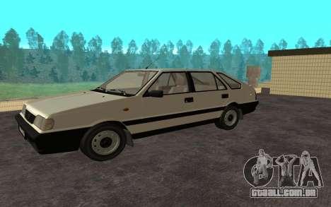 Daewoo FSO Polonez Caro Plus para GTA San Andreas traseira esquerda vista