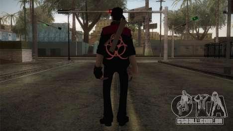 Christian Brutal Sniper from TF2 para GTA San Andreas terceira tela