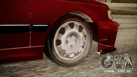 Peugeot Pars The Best Full Sport v1 para GTA San Andreas traseira esquerda vista