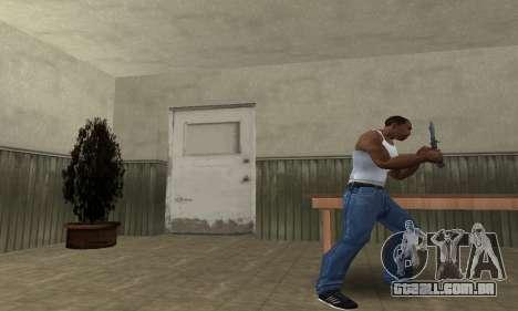 Butterfly Knife para GTA San Andreas segunda tela