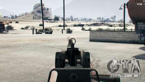 Battlefield 4 CZ805 para GTA 5