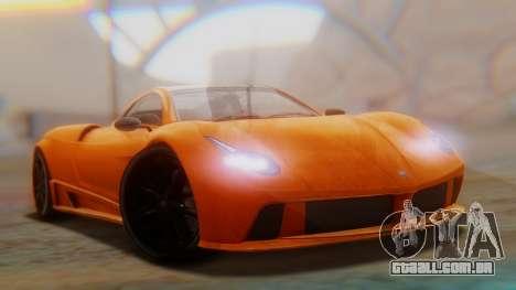 GTA 5 Pegassi Osiris SA Style para GTA San Andreas traseira esquerda vista