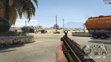 GTA 5 Battlefield 4 CZ805 quinta imagem de tela