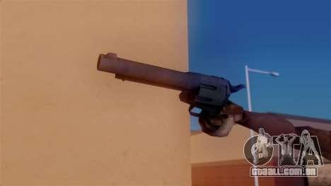 Revolver para GTA San Andreas terceira tela