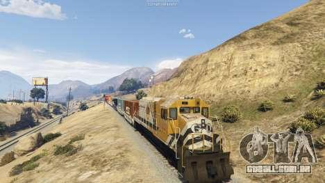 GTA 5 Railroad Engineer 3 segundo screenshot