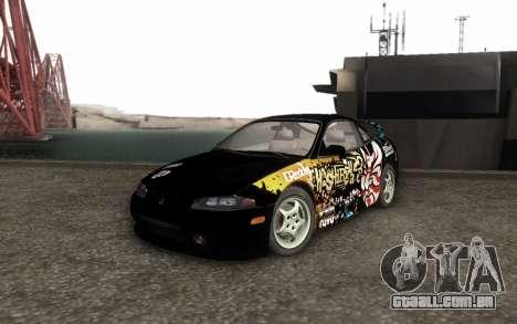 Mitsubishi Eclipse GSX NFS Prostreet para GTA San Andreas