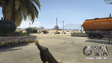 GTA 5 Battlefield 4 CZ805 quarto screenshot