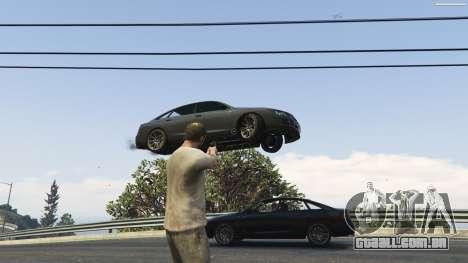GTA 5 Gravity Gun 1.5 sétima screenshot