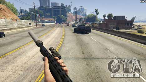 GTA 5 Stand On Moving Cars terceiro screenshot