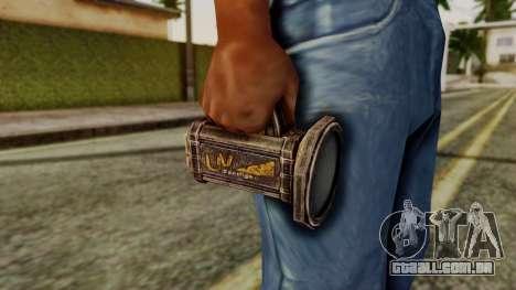Forensic Flashligh from Silent Hill Downpour para GTA San Andreas terceira tela