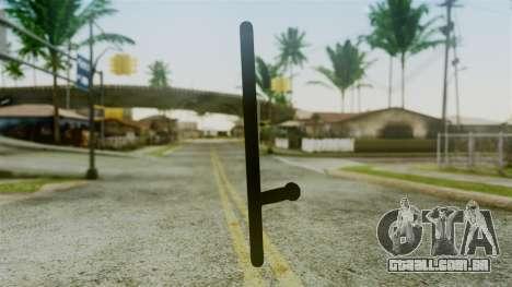 Police Baton from Silent Hill Downpour v2 para GTA San Andreas segunda tela
