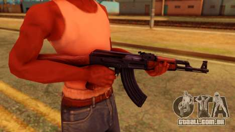 Atmosphere AK47 para GTA San Andreas terceira tela