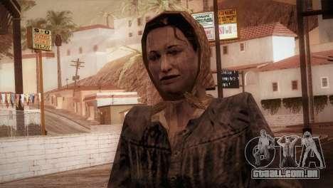 RE4 Maria para GTA San Andreas
