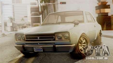 Vulcar Warrener GT 1500 (CT1) para GTA San Andreas