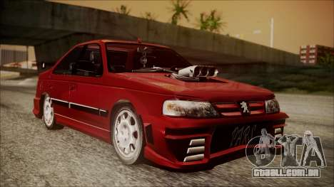 Peugeot Pars The Best Full Sport v1 para GTA San Andreas