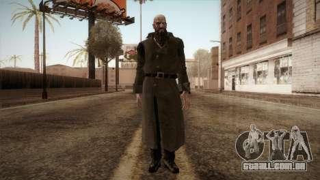 RE4 Mendes para GTA San Andreas segunda tela